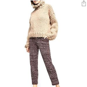 NWT🎭FREE PEOPLE🎭COZY KNIT TROUSERS🎭